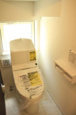 TOTOの「しっかり節水」「充実した節電機能」がついているトイレ