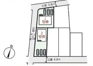 【区画図】西脇市和田町6期 1号棟 ~新築一戸建て~