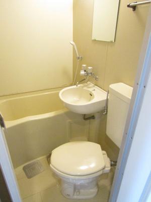 【浴室】ハイツ鍵屋西町 東棟