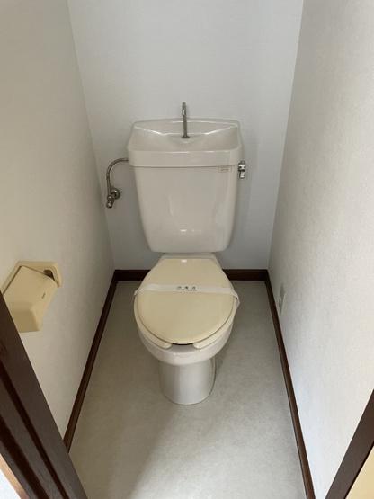 ほっと一息つけるトイレ…