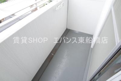 【バルコニー】ユーコート東船橋