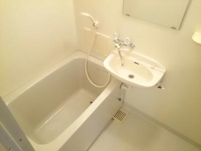 【浴室】メゾンハッピーⅡ