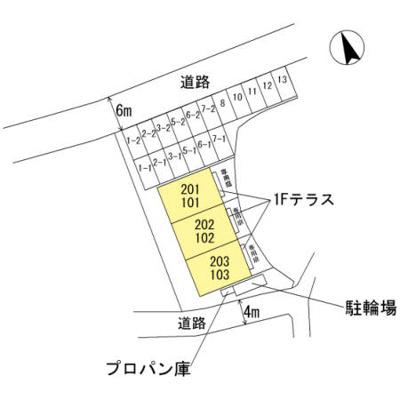 【区画図】メゾンM