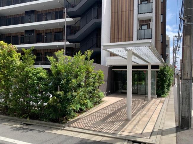 【エントランス】目黒本町レジデンス