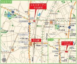 【地図】ヒルズガーデン牛久田宮