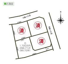 【区画図】ヒルズガーデン稲荷前