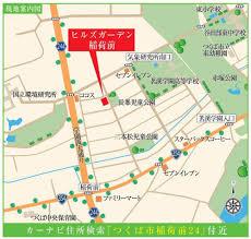 【地図】ヒルズガーデン稲荷前