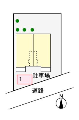 【駐車場】イーストヒルⅣ
