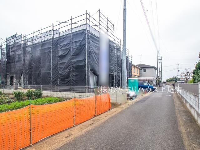 【前面道路含む現地写真】蓮田市藤ノ木 第2 新築一戸建て クレイドルガーデン 03
