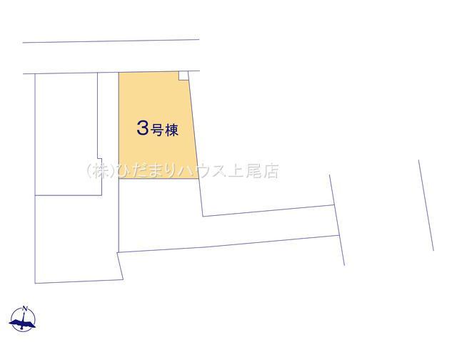 【区画図】蓮田市藤ノ木 第2 新築一戸建て クレイドルガーデン 03