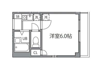 【洗面所】シャトレー和泉多摩川