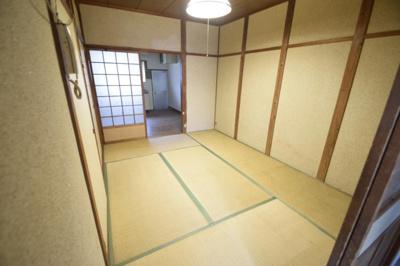 【寝室】木戸山町貸家