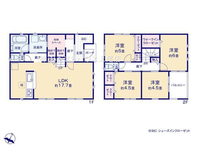 桶川市坂田西 第1 新築一戸建て クレイドルガーデン 02