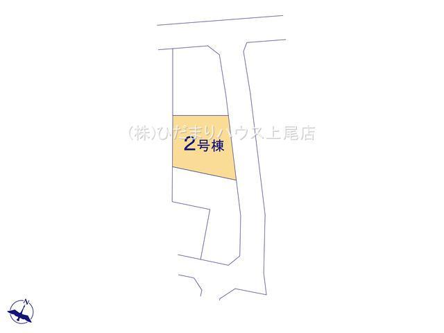 【区画図】桶川市坂田西 第1 新築一戸建て クレイドルガーデン 02