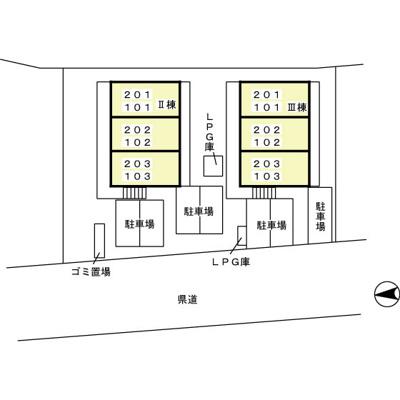 【区画図】セジュールM・Y Ⅲ