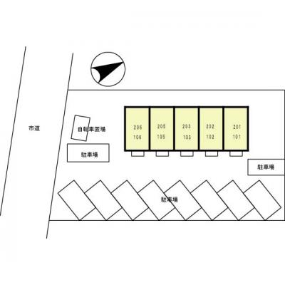 【区画図】アルシュ12