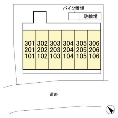 【区画図】Magnolia cout[マグノリアコート]