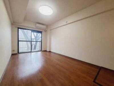【居間・リビング】ライオンズマンション太子堂第2 南向き 室内洗濯機置場 光ファイバー