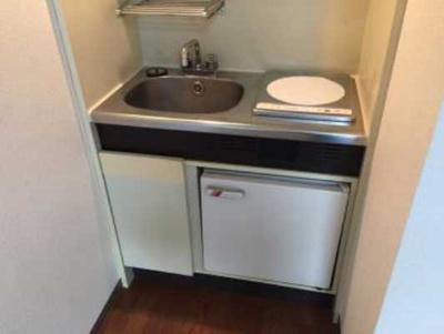 【キッチン】ライオンズマンション太子堂第2 南向き 室内洗濯機置場 光ファイバー