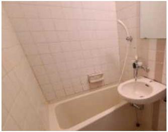 【浴室】ライオンズマンション太子堂第2 南向き 室内洗濯機置場 光ファイバー