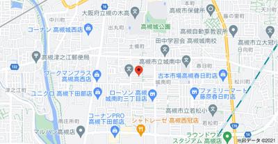 【地図】メゾンアサヒ2 (株)Roots