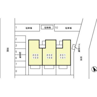 【区画図】M・HALF