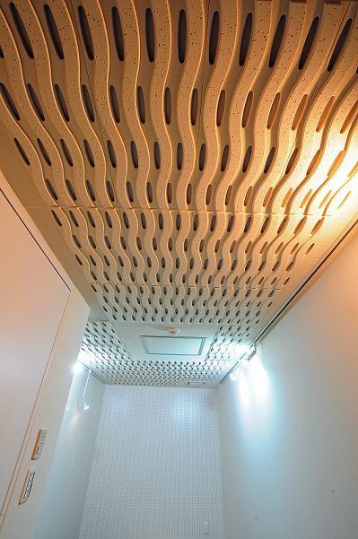 防音室の天井です※反転タイプの写真です。