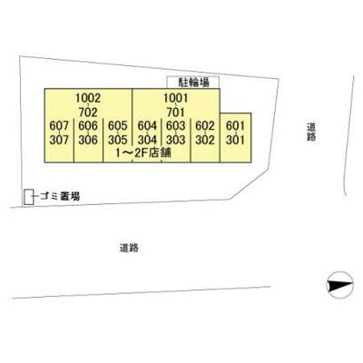 【区画図】高野山第一ビル
