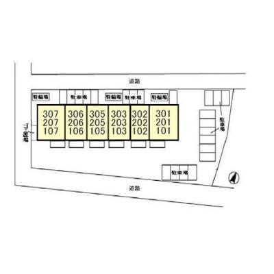 【区画図】グリーンガーデン新柏