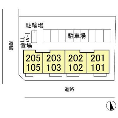 【区画図】メイユール マチハタ