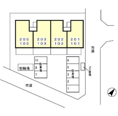【区画図】パークヒル