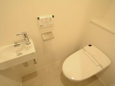 【トイレ】麻布十番スクエアレジデンス