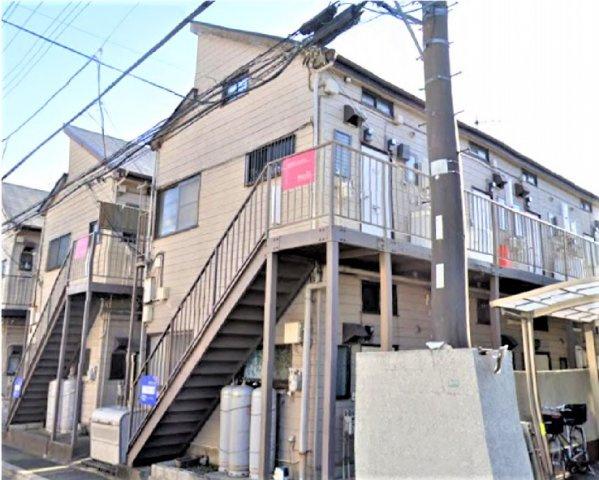 【外観】船橋市海神4丁目の一棟売りアパート