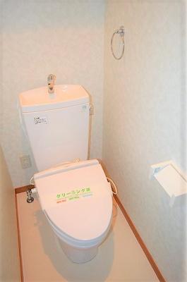【トイレ】ヴェルデカワシマ