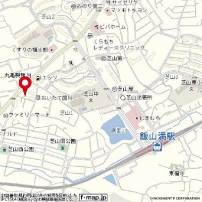【地図】ハイツカテリーナⅠ号棟