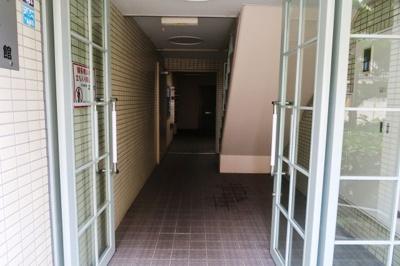 【ロビー】サンワロイヤルマンション2号館