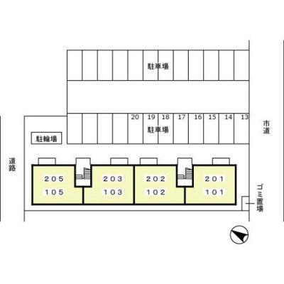 【区画図】ガーデンハイツ桜丘