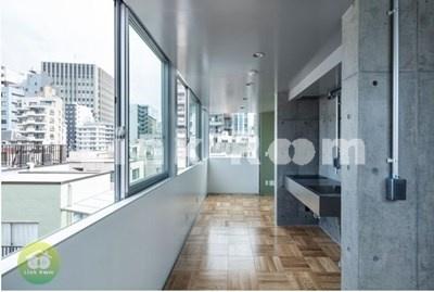 【居間・リビング】Mon-naka Apartment Terrace