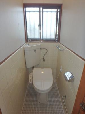 西中新田 平屋 2LDK トイレ