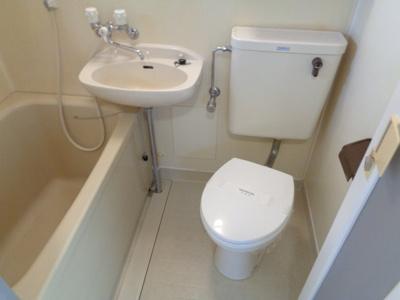 【浴室】カクサン可美タウンⅠ