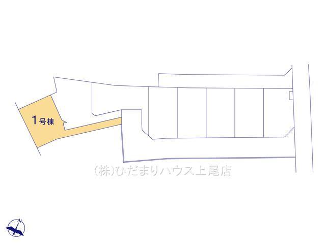 【区画図】桶川市東 新築一戸建て リーブルガーデン 01