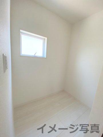 ストレージルーム完備。収納スペースとしても趣味のお部屋としても使いやすい♪ご家庭によって使い方自由♪