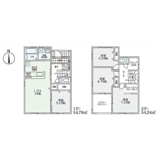 大和高田市野口3期 新築(全2棟)1号棟