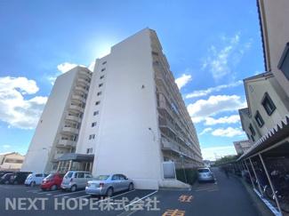 【ろうきん立花コーポA棟】地上10階建 総戸数260戸 ご紹介のお部屋は9階部分です♪