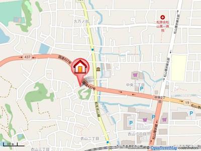 【地図】リッツハウス上野