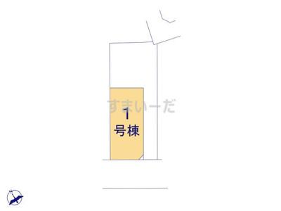 【区画図】クレイドルガーデン中原西