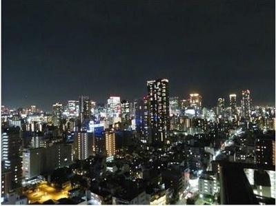 東側からの夜景です。