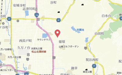 【地図】グランドール 姫原