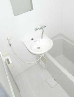 【洗面所】日神パレステージ三軒茶屋第2 バストイレ別 室内洗濯機置場 オートロック