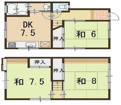 神戸市垂水区上高丸3丁目 中古戸建